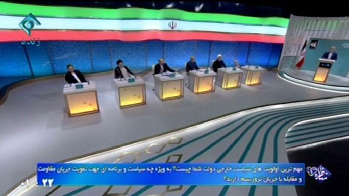 الحقوق المدنية والاتفاق النووي يسيطران على مناظرة مرشحي الرئاسة في إيران