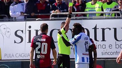 Italy: Ghana's Muntari has match ban reversed in racist walk-off dispute
