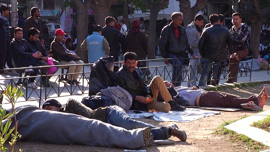 Yunanistan'da insan kaçakçılığı operasyonu