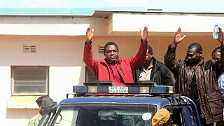 Zambia's opposition chief rejects 'dirty' police van, case adjourned