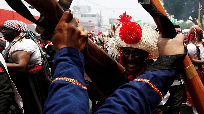 В Мексике отпраздновали победу над Наполеоном III