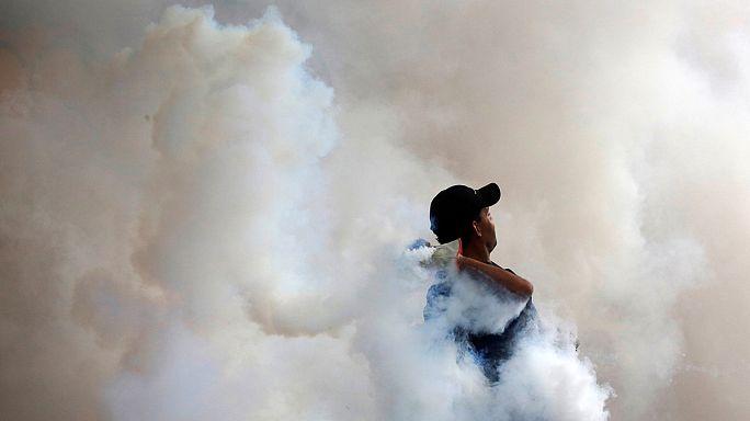 Funeral por el joven violinista muerto en una protesta antigubernamental en Venezuela