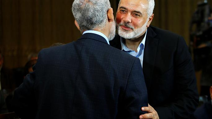 انتخاب اسماعيل هنية رئيسا للمكتب السياسي لحركة حماس خلفا لخالد مشعل