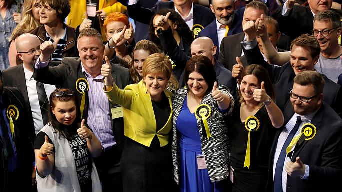 UK election: Sturgeon plays down Tory threat in Scotland