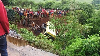 Over 20 Tanzanian students die in bus crash en route to write exam