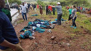 ده ها دانش آموز ابتدایی تانزانیایی در راه مدرسه جان باختند
