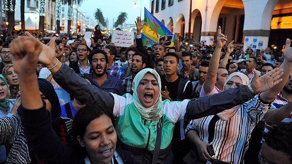 احتجاجات بقرع الأواني في مدينة الحسيمة المغربية