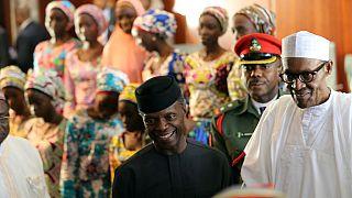 Nigeria: les 82 lycéennes de Chibok libérées par Boko Haram, reçues par le président Buhari