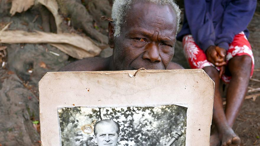 Fülöp herceg, Vanuatu istene