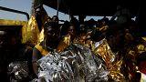 حدود ۳ هزار مهاجر دیگر در دریای مدیترانه نجات داده شدند