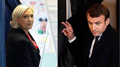 French elections: Candidates cast their ballots in final round of voting