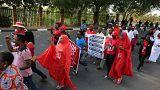 Nijerya'da Boko Haram'ın elinden kurtulan kızlar Abuja'ya ulaştı
