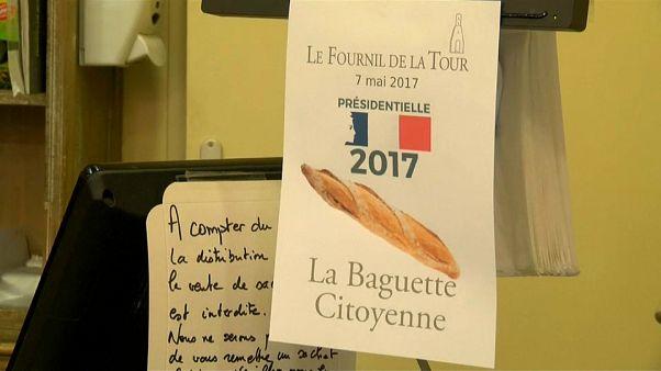 رغيف لكل صوت في الانتخابات الفرنسية