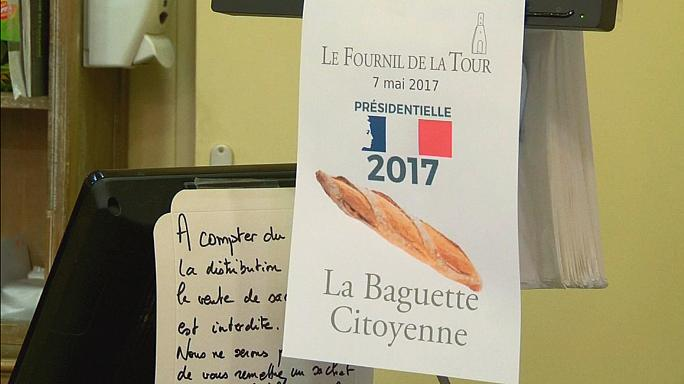 French voters get free baguettes
