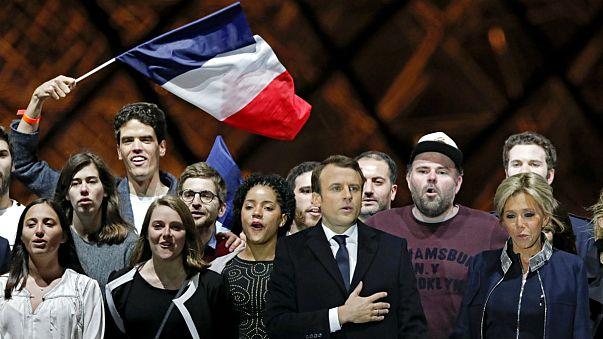 """Macron: """"una victoria sin precedentes"""""""