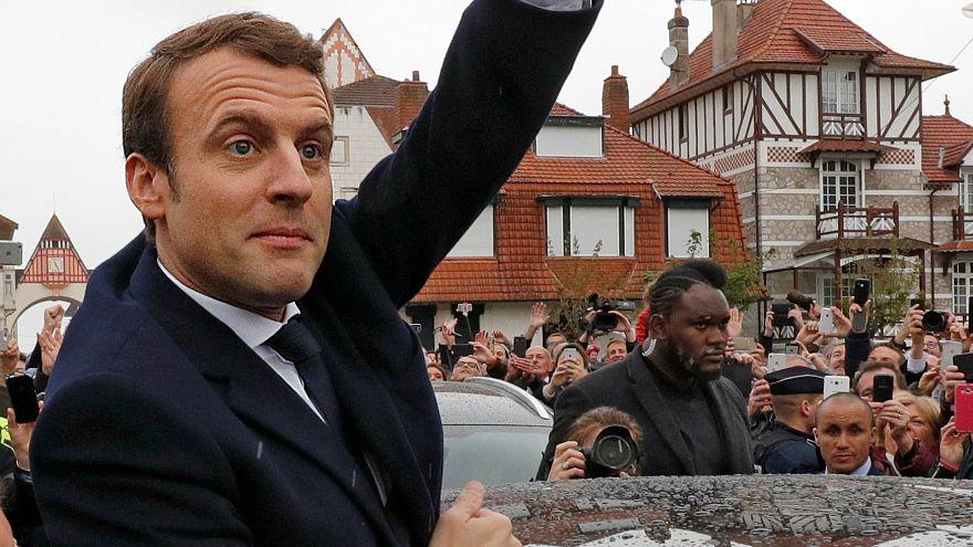 انتخاب ماكرون رئيسا لفرنسا