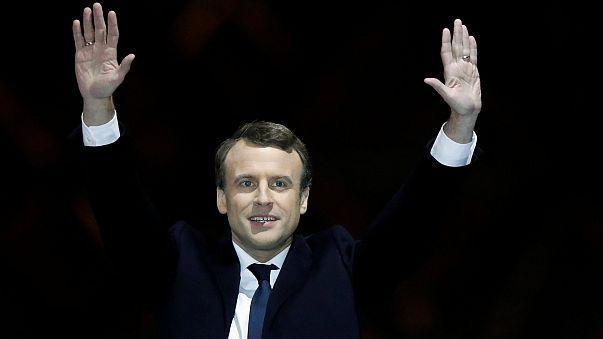 Fransa'da seçimin galibi Macron birlik çağrısı yaptı