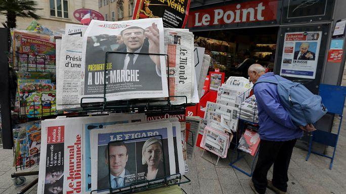 Vos journaux au lendemain de la victoire d'Emmanuel Macron