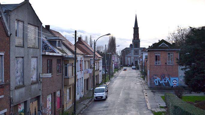 Belçika'da grafitlerle dolu hayalet kasabanın ilginç hikayesi