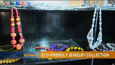 Congo : des bijoux à base d'objets recyclés