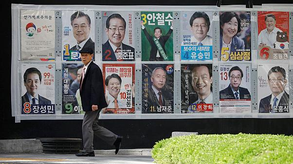 Campaigning ends before South Korea's presidential election