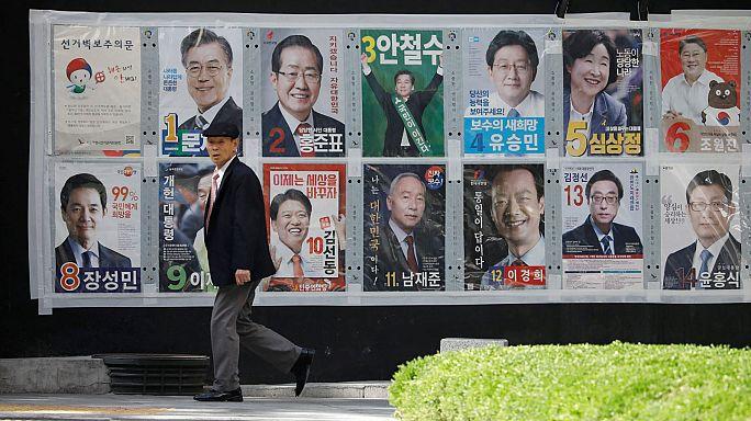 Corea del Sud alle urne per le presidenziali