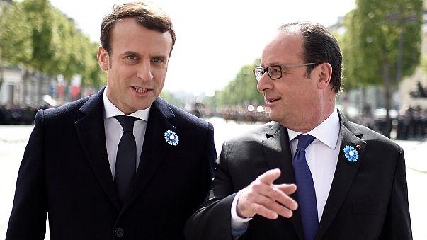 Presidenciais França: Passagem de poder de Hollande para Macron deve acontecer no próximo domingo