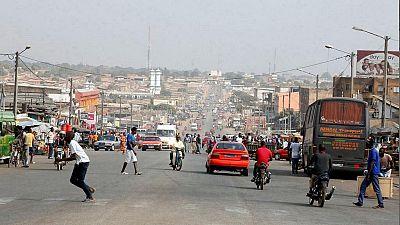 Demobilized ex-rebels block entrance to Ivory Coast's second largest city, Bouake