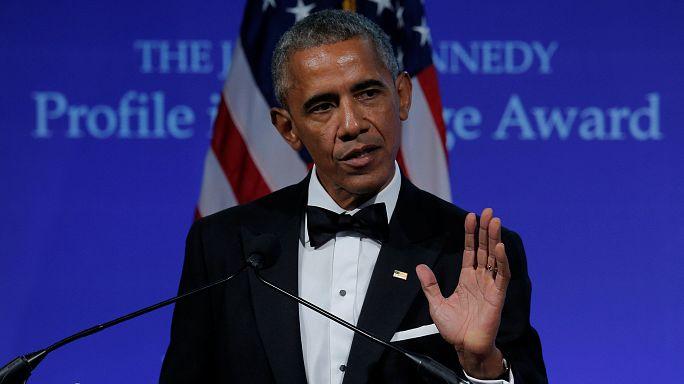 """Барак Обама: """"Нужно обладать мужеством, чтобы защищать больных и немощных"""""""