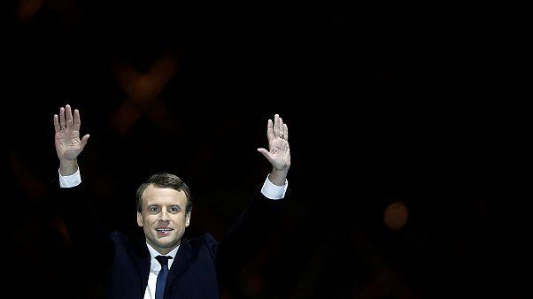 Γαλλία: Oι εορτασμοί Μακρόν μετά τα αποτελέσματα