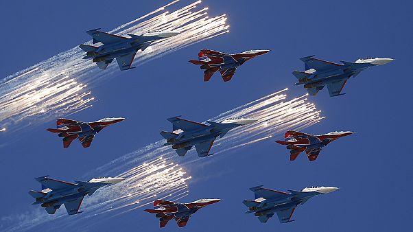 Rusia ensaya su gran desfile militar