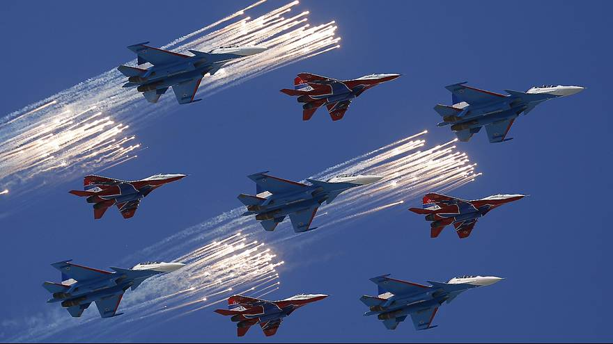 Russia gears up for huge military parade