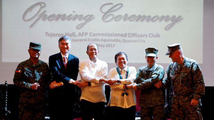 تدريبات عسكرية بين الفيليبين والولايات المتحدة بجنود أقل