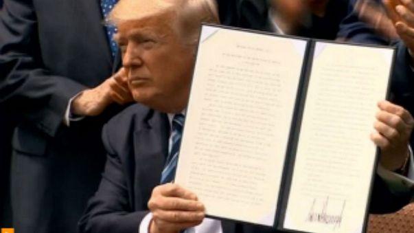 اختبار جديد يواجه مرسوم ترامب المعدل بشأن حظر السفر
