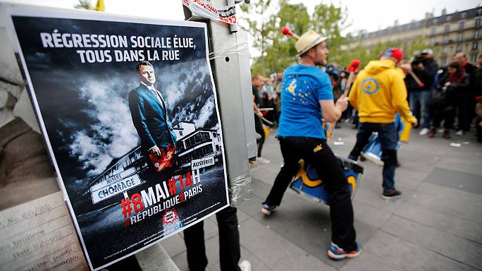 Fransa'da cumhurbaşkanlığı seçimine katılım azlığı ve boş oylar damgasını vurdu