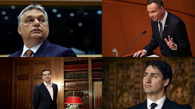 Jovens líderes de todo o mundo