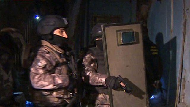 Türkei: Landesweiter Großeinsatz gegen Drogenhändler