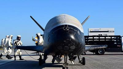 Mysterious U.S space plane lands after secret two-year mission