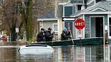 Autoridades do Quebec declaram estado de emergência por causa das cheias