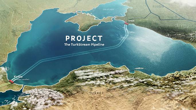 TurkStream gas pipeline: work starts
