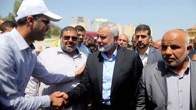 Yeni Hamas lideri İsmail Heniyye'den Filistinli mahkumlara destek mesajı