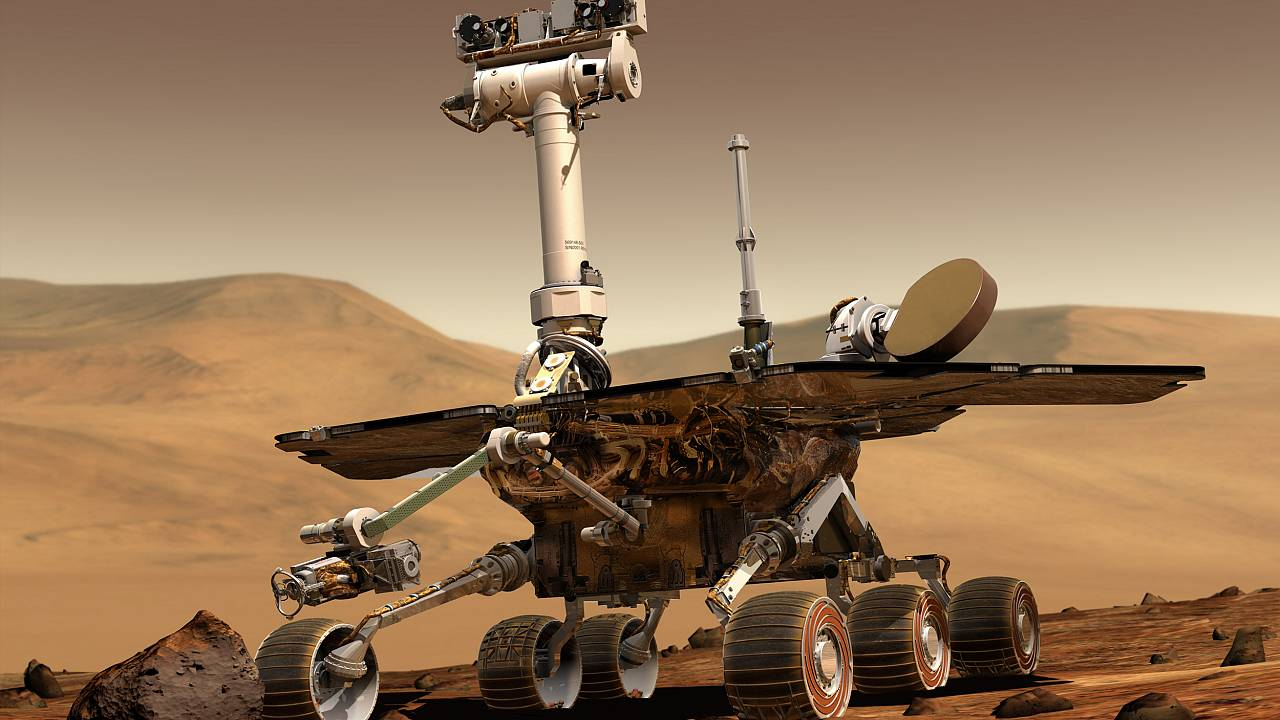 Image: Mars Exploration Rover Opportunity