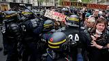 Post-election protests grip Paris