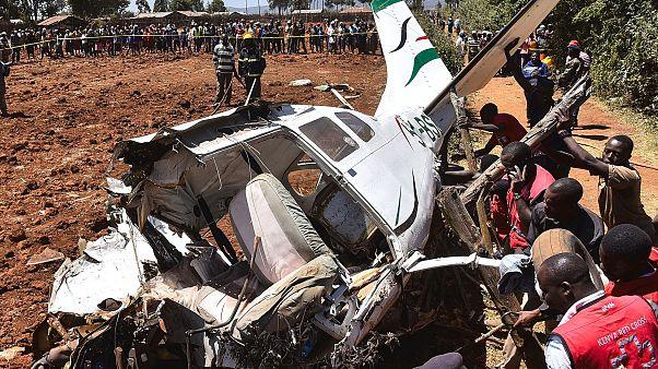 2 Americans among 5 dead in Kenyan plane crash