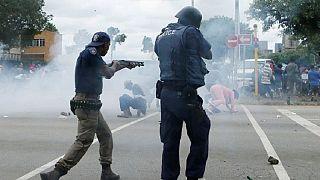 Afrique du Sud : plusieurs maisons brûlées après des protestations