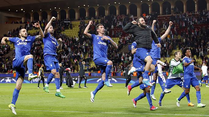 Champions League: Juventus lead Monaco in semi-final