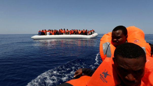 أكثر من 200 مفقود عقب غرق مهاجرين قبالة السواحل الليبية