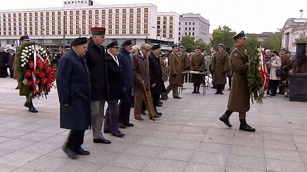 Weltkriegsgedenken in Polen und Tschechien
