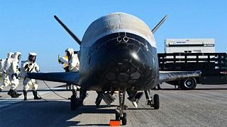 Secret space plane lands in Florida