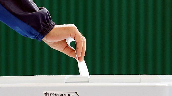 Coreia do Sul vota novo Presidente da República